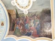 Фрагмент росписи. Икона Входа Господня в Иерусалим.