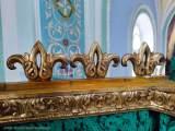 Иконостас Всехсвятского придела до реставрации.