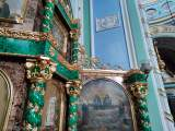 Иконостас Всехсвятского придела после реставрации.