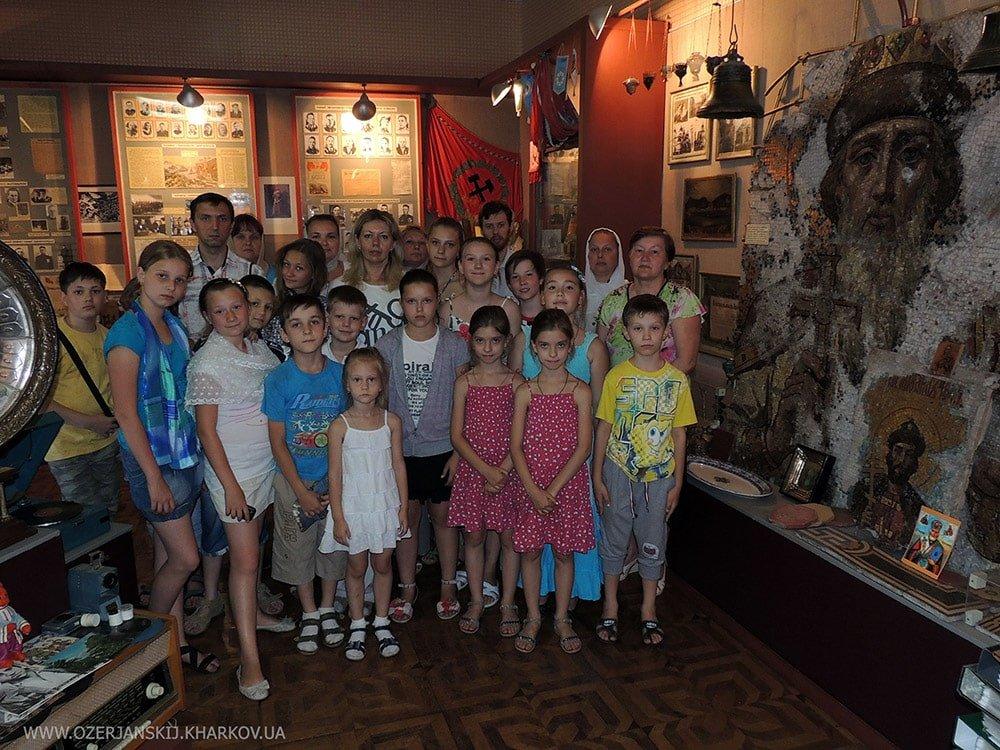 Посещение краеведческого музея Первомайской гимназии (2013 г.)