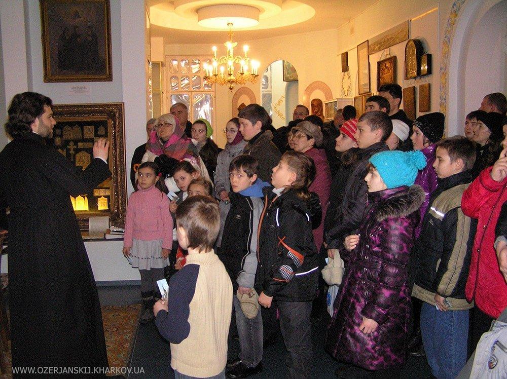 Экскурсия в церковно-исторический музей (2012 г.)