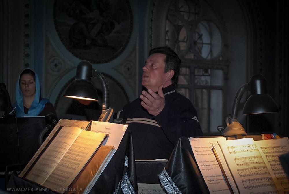 Вячеслав Геннадиевич Бойко, регент хора Свято-Озерянского храма