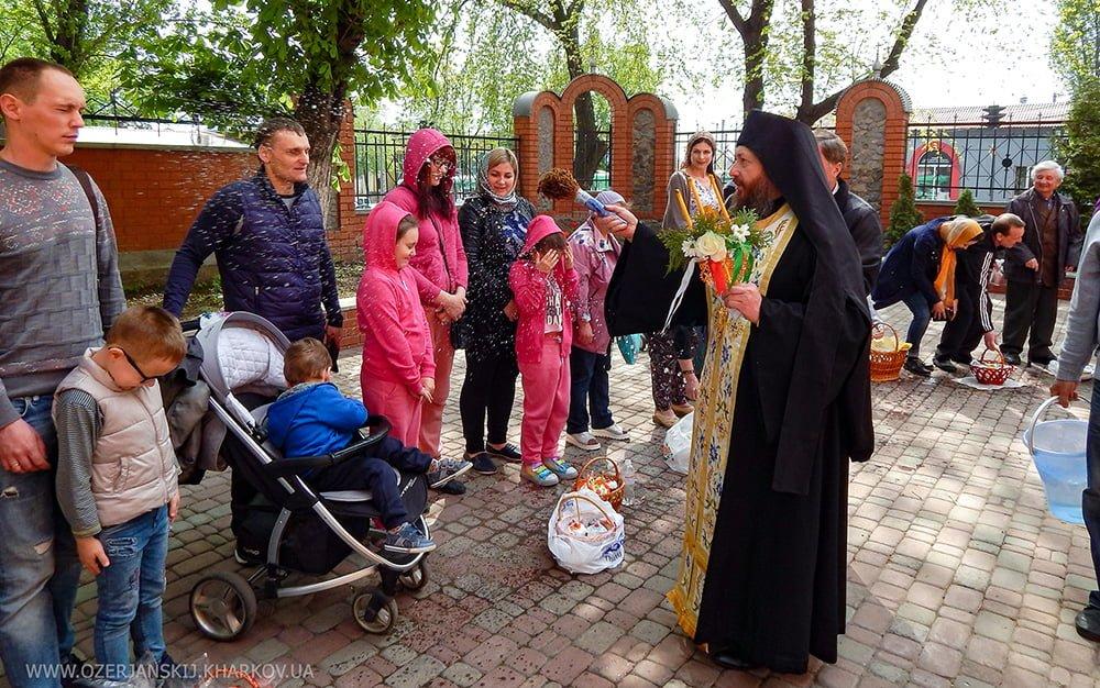 Свято-Озерянский храм. Пасха. 28 апреля 2019 г.