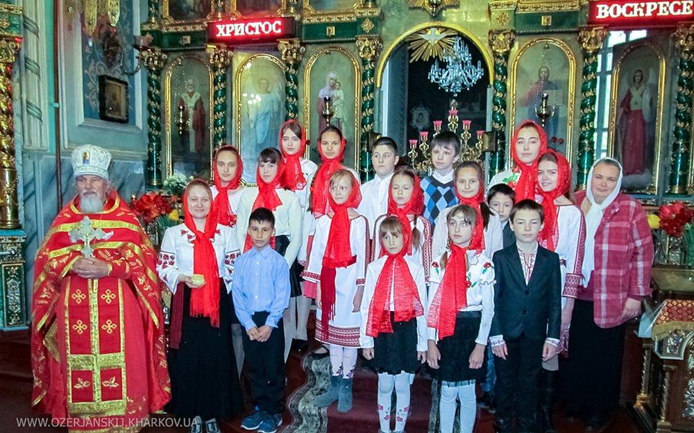 Детская воскресная школа Свято-Озерянского храма. Светлый понедельник. 29 апреля 2019 г.