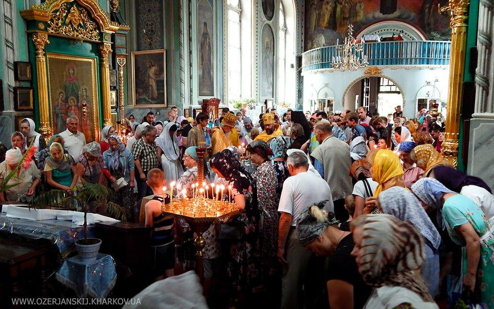 Свято-Озерянский храм. Всех святых. 23 июня 2019 г.