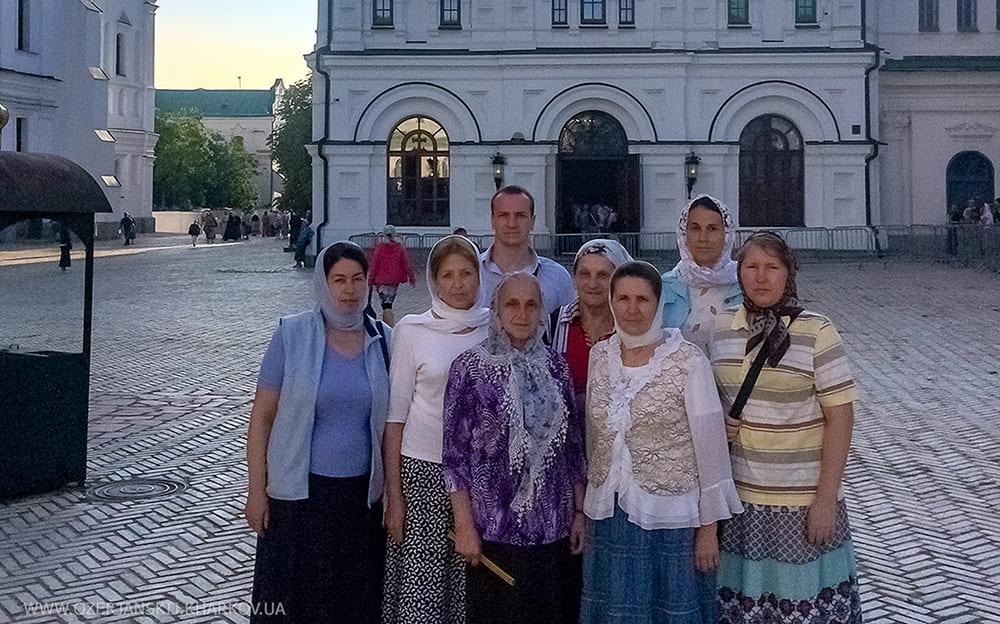 Торжества, посвященные Крещению Руси. Участники паломнической поездки. Киев, 28 июля 2019 г.