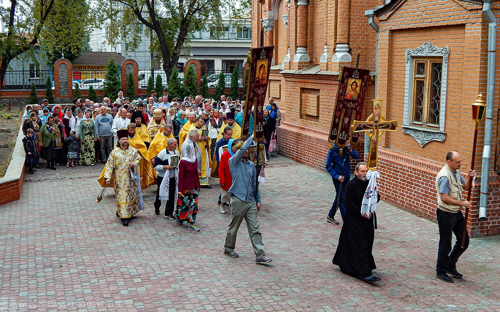Свято-Озерянский храм. Обретение мощей святителя Иоасафа, епископа Белгородского. 17 сентября 2019 г.