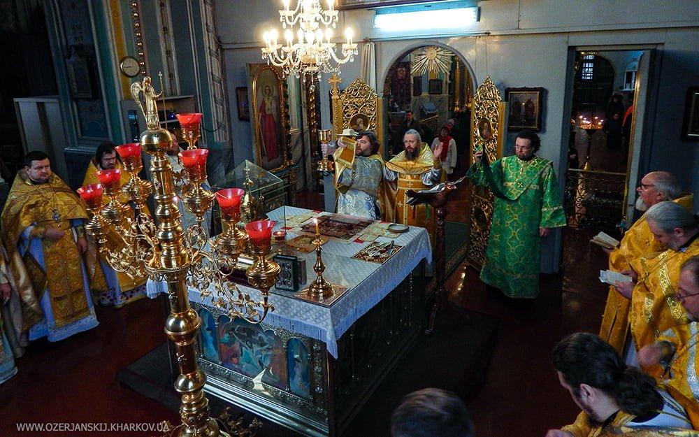 Свято-Озерянский храм. Святителя Иоасафа, епископа Белгородского. 23 декабря 2019 г.