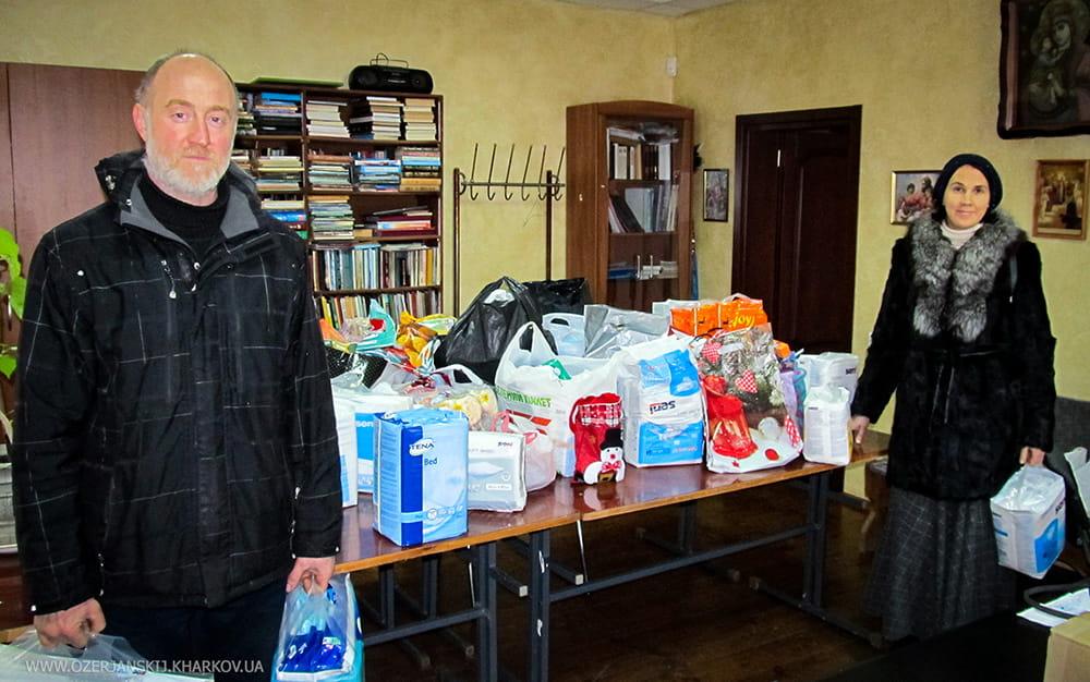 Община Свято-Озерянского храма учавствует в акции организации «Дети Милосердия»