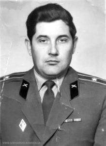 Виктор Иванович Ланчев во время службы в вооруженных силах, 80-е годы