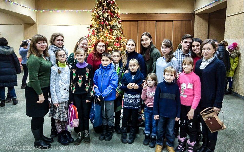 Посещение воспитанниками воскресной школы спектакля театра «Тимур». 5 января 2020 г.