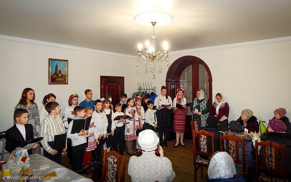Выступление воспитанников детской воскресной школы Свято-Озерянского храма. 23 февраля 2020 г.
