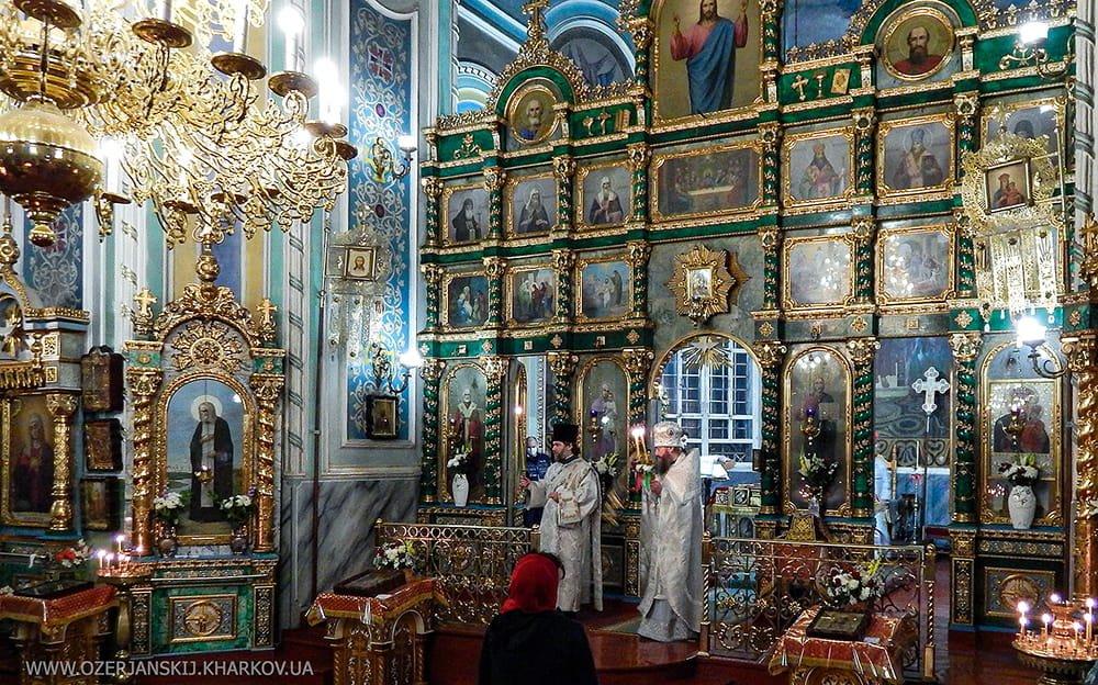 Пасхальное богослужение. Свято-Озерянский храм, 19 апреля 2020 г.