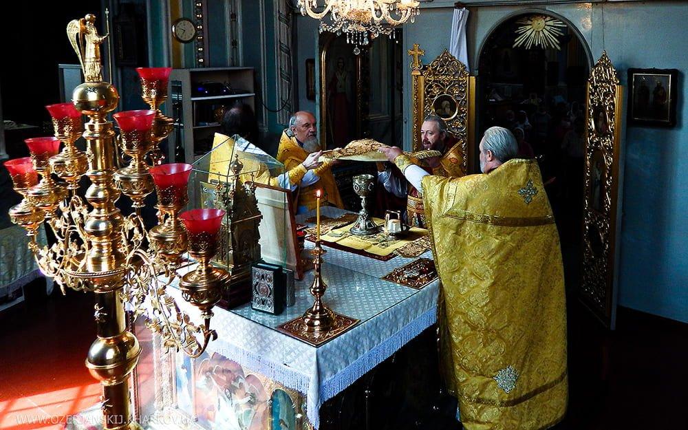 Неделя 1-я по Пятидесятнице, Всех святых. Свято-Озерянский храм, 14 июня 2020 г.