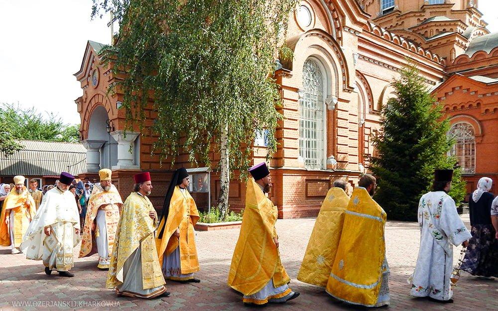 Святого равноапостольного великого князя Владимира, Свято-Озерянский храм, 28 июля 2020 г.