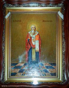Икона Святителя Амвросия Медиоланского