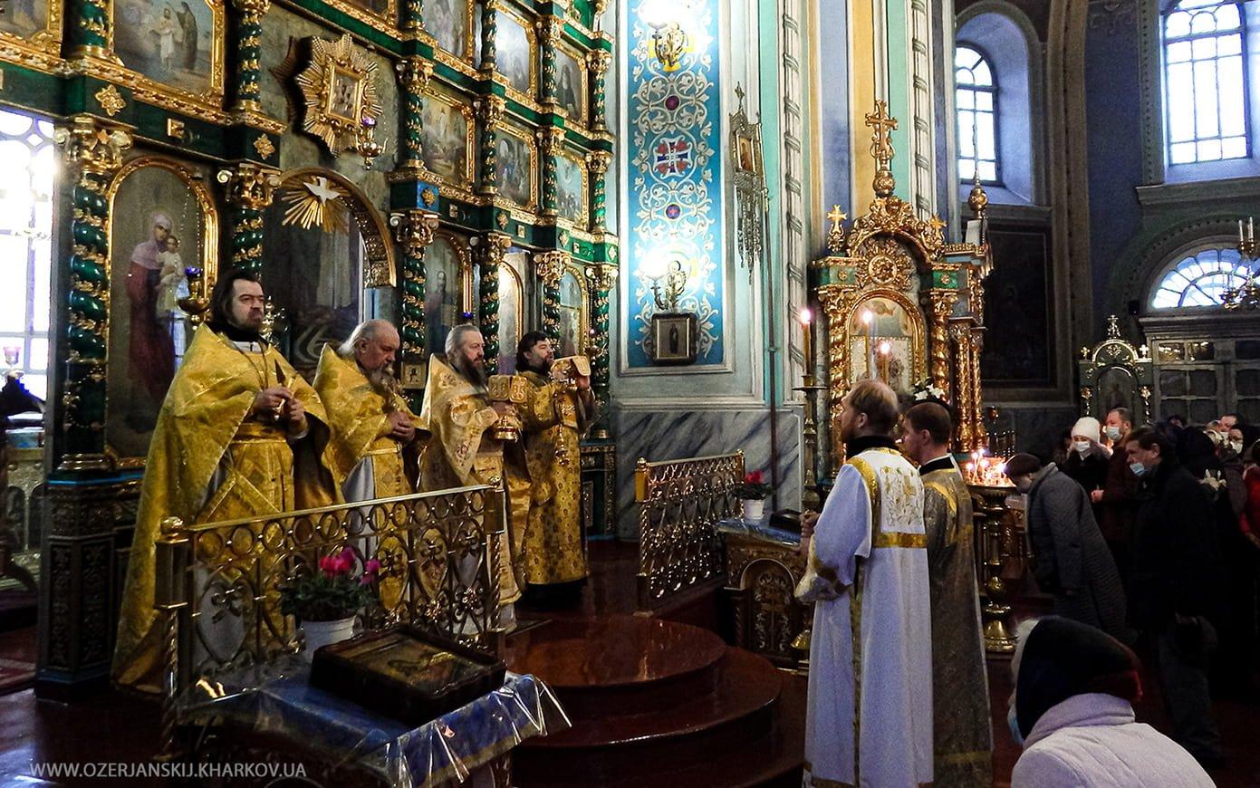 Свято-Озерянский храм. Святителя Амвросия, епископа Медиоаланского, 20 декабря 2020 г.