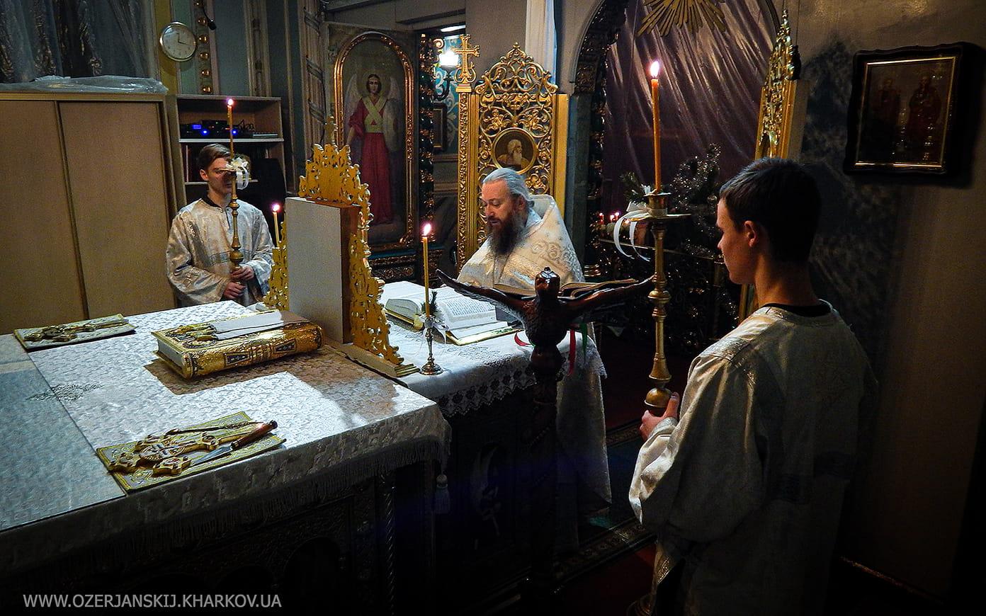 Свято-Озерянский храм. Рождество Христово, ночная Литургия, 7 января 2021 г.